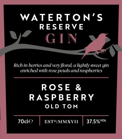 Waterton's Reserve Gin Rose & Raspberry Old Tom