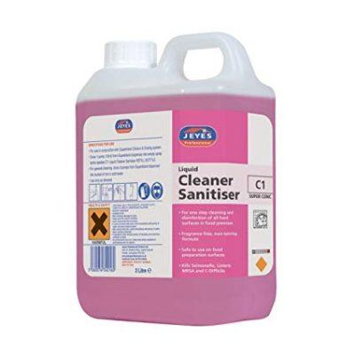 c1-liquid-cleaner-sanitiser-2x2l