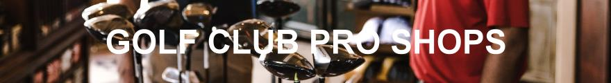 Golf Club Pro Shops